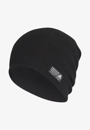 PERFORMANCE ESSENTIALS BEANIE - Bonnet - black