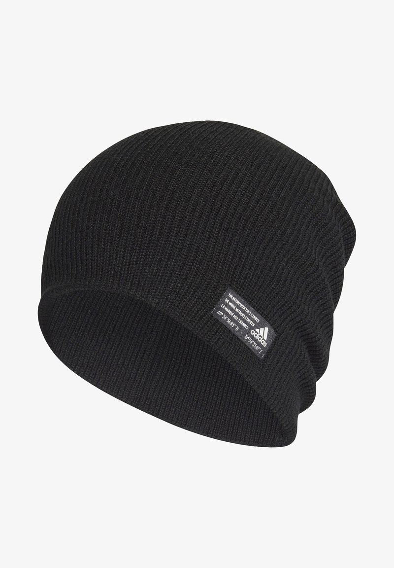 adidas Performance - PERFORMANCE ESSENTIALS BEANIE - Lue - black