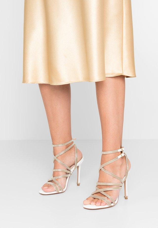 GAME - Højhælede sandaletter / Højhælede sandaler - white
