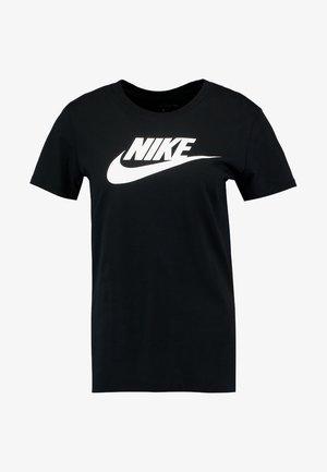 TEE ICON FUTURA - T-shirt imprimé - black/(white)