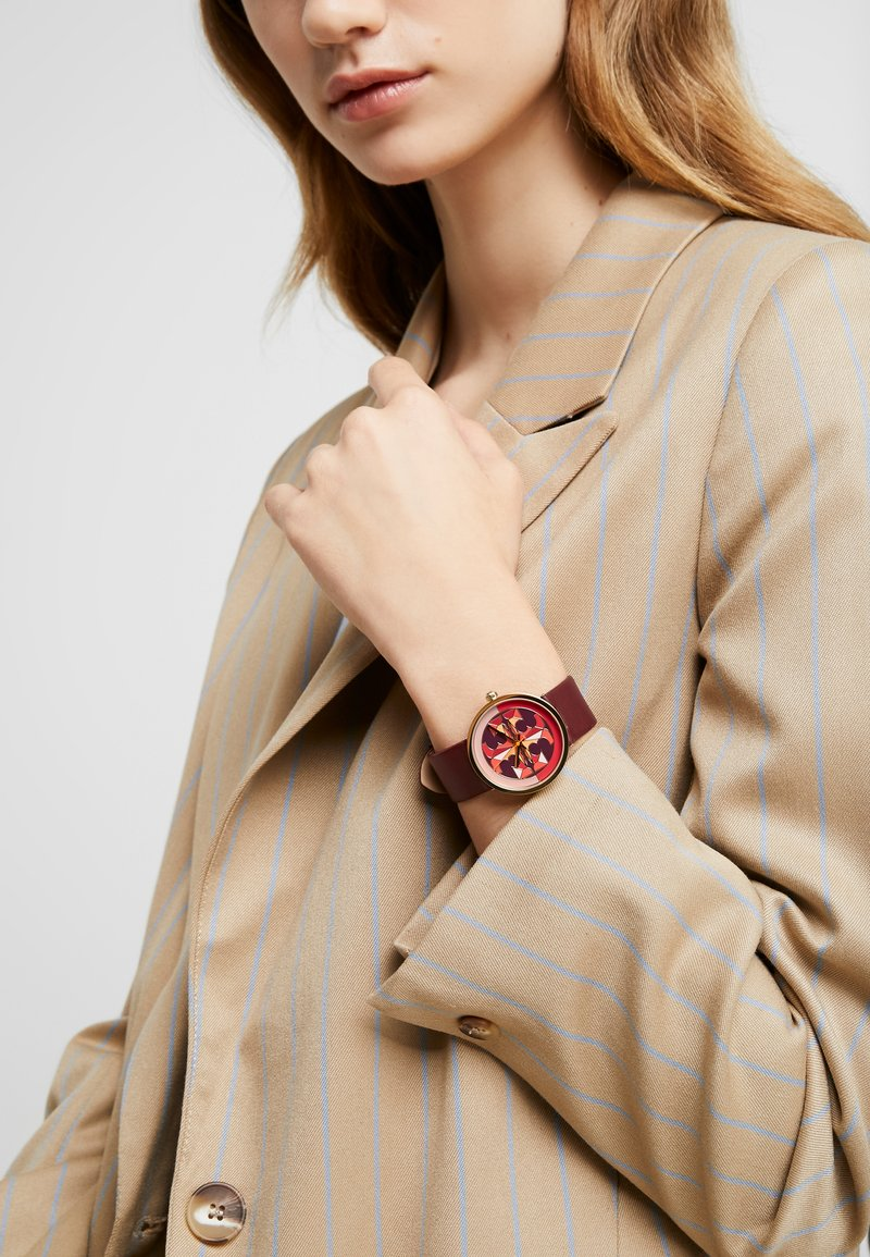 Tory Burch - THE REVA - Watch - red