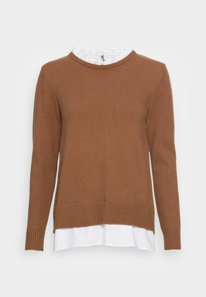 2 IN 1 - Jumper - toffee
