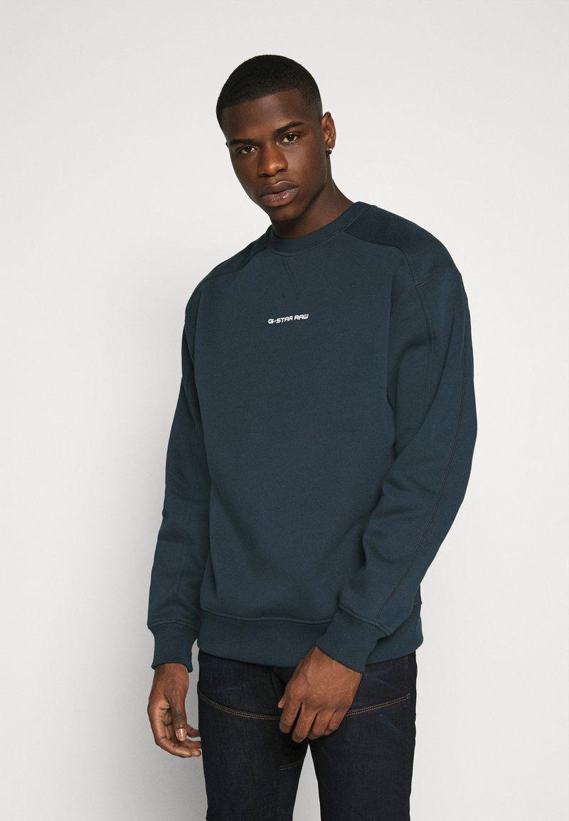G-Star - REINFORCED CREW - Sweater - legion blue