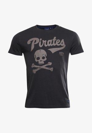 T-shirt imprimé - slate grey