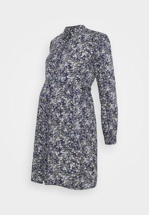 PCMPAOLA DRESS - Shirt dress - blue