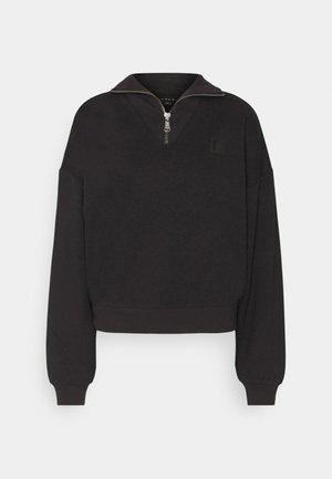 ZIPPER  - Sweatshirt - black