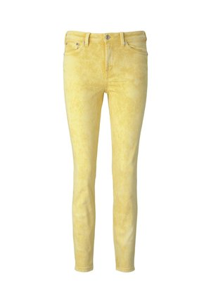 JEANSHOSEN NELA EXTRA SKINNY JEANS PASTELL-WASHED-LOOK - Jeans Skinny Fit - yellow wash
