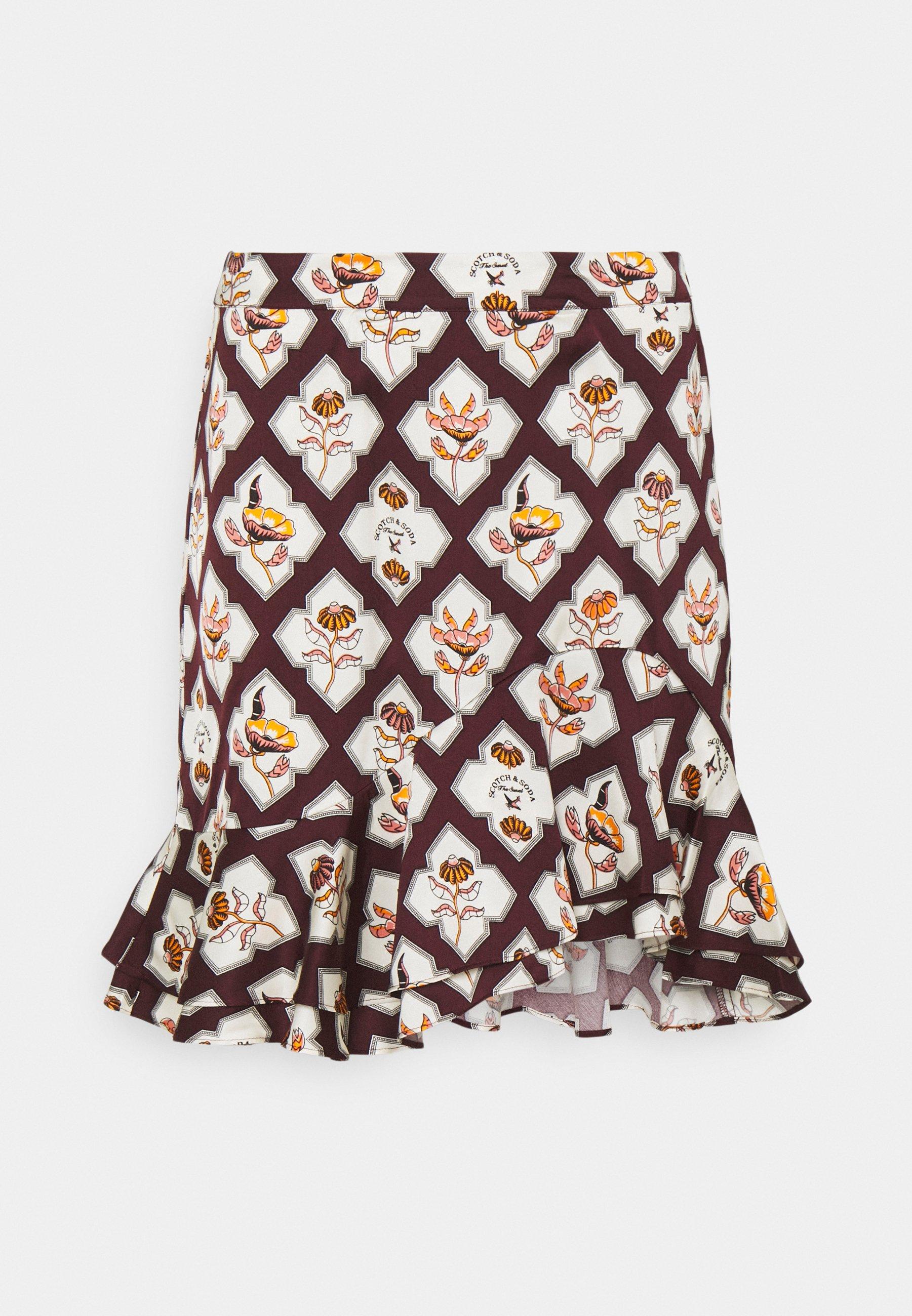 Women PRINTED SKIRT - Pencil skirt