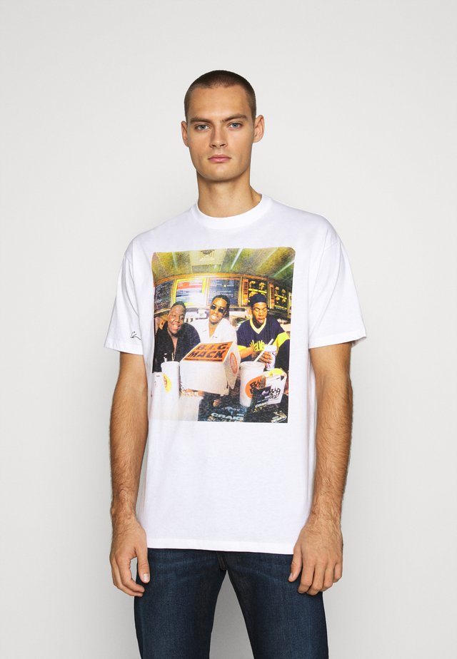 BIG MACK - T-shirt med print - white