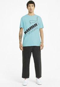 Puma - Print T-shirt - blue - 1