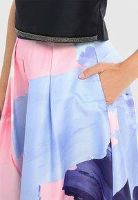 Apart - Jupe trapèze - nachtblau-multicolor - 5