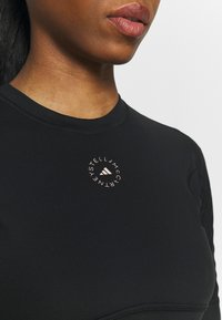 adidas by Stella McCartney - CROP - Camiseta básica - black - 3