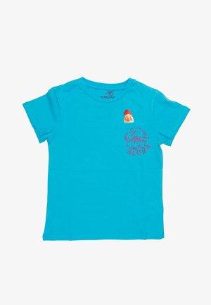 GNOMO STAMPATO - T-shirt print - turchese