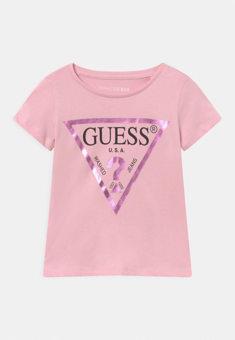Guess - TODDLER CORE - Camiseta estampada - alabaster pink