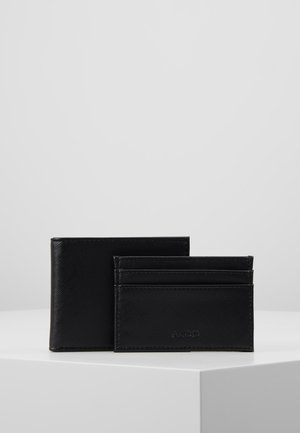 LEBSKO SET - Business card holder - black