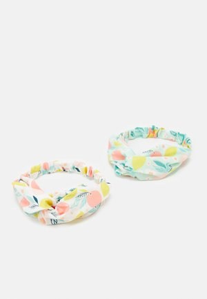 GIRL HEAD BAND FRUITS 2 PACK - Hair Styling Accessory - bright white/soothing sea