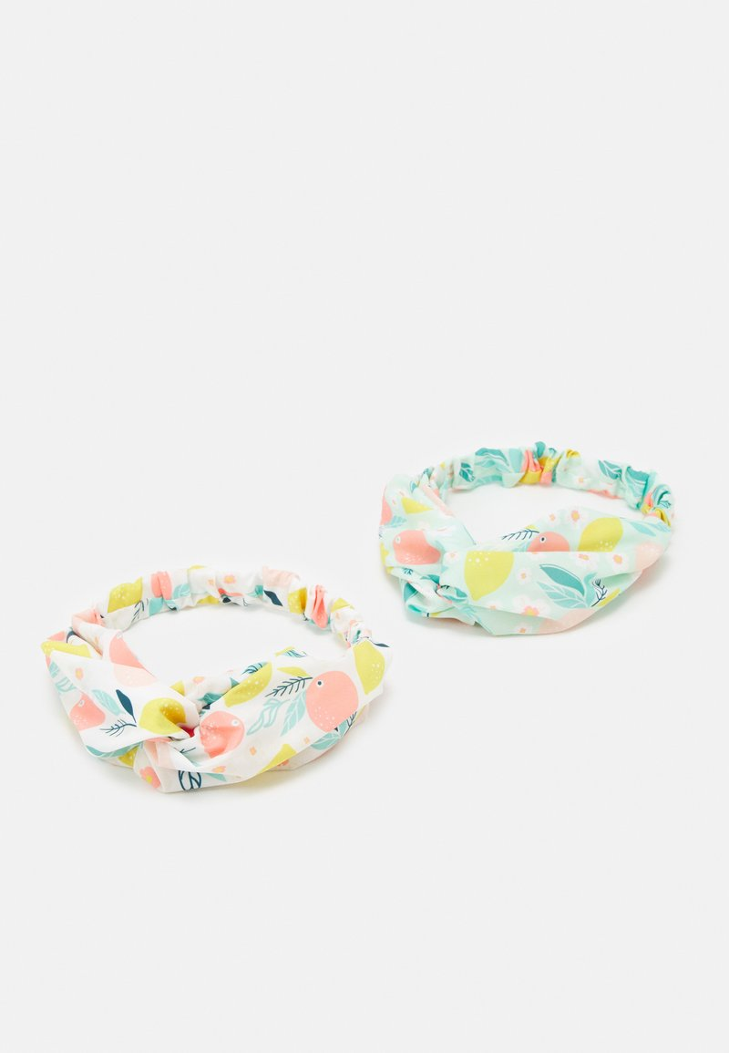 OVS - GIRL HEAD BAND FRUITS 2 PACK - Hair styling accessory - bright white/soothing sea
