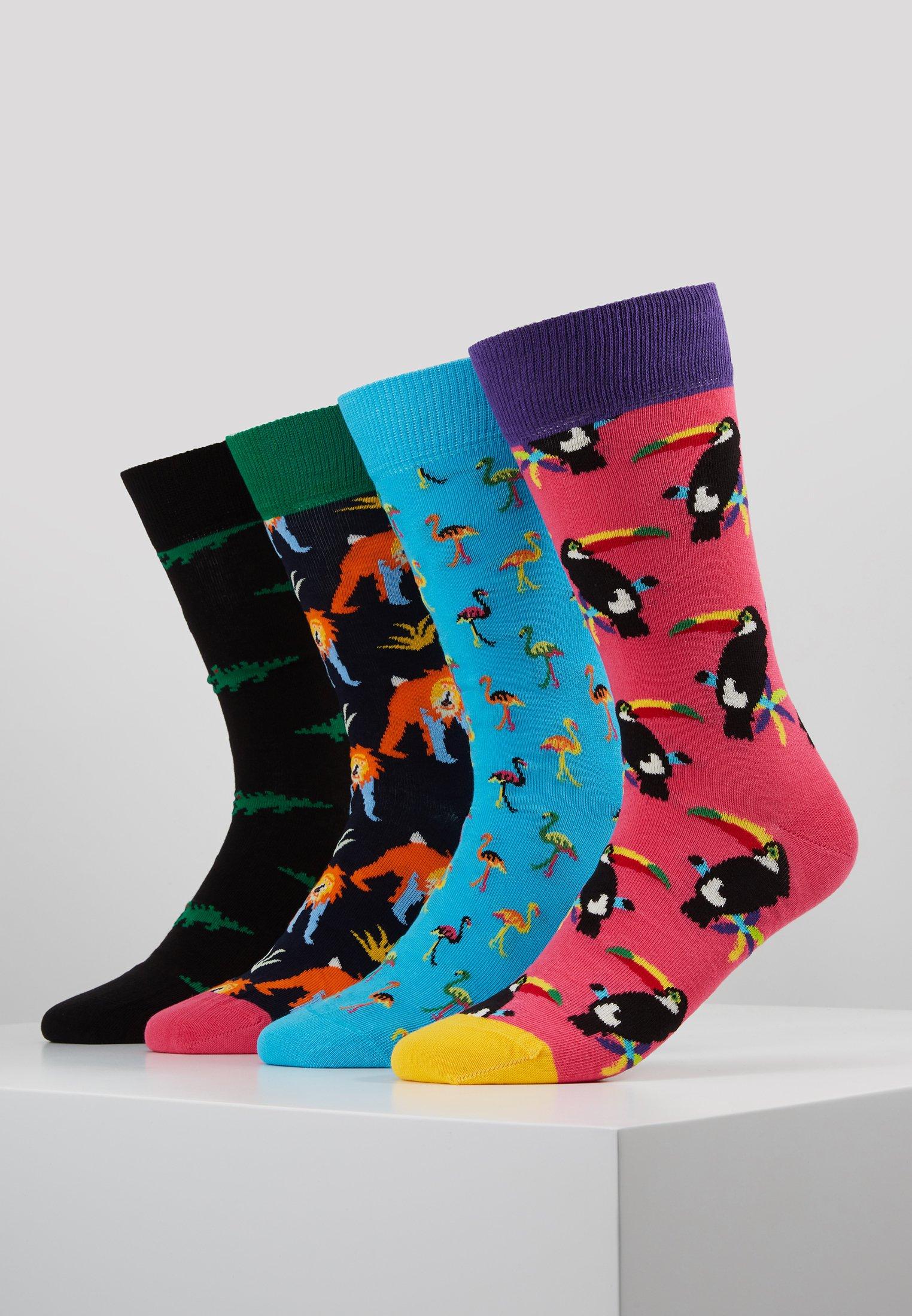 Women ANIMAL GIFT BOX 4 PACK - Socks