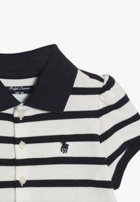 Polo Ralph Lauren - STRIPE  - Poloshirt - hunter navy/nevis - 4