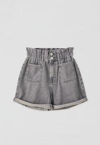 PULL&BEAR - Denim shorts - light grey - 2