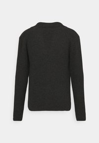 Wool & Co - GIACCA COSTA INGLESE - Cardigan - anthracite - 1