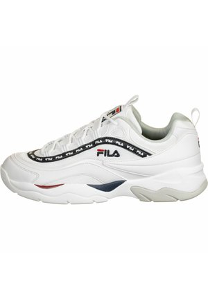 SCHUHE RAY MESH - Baskets basses - white/fila navy