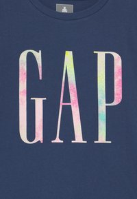 GAP - TODDLER GIRL LOGO - Print T-shirt - navy uniform - 2