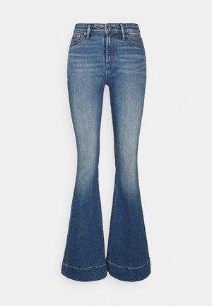 JANE BLAUTH - Široké džíny - blue