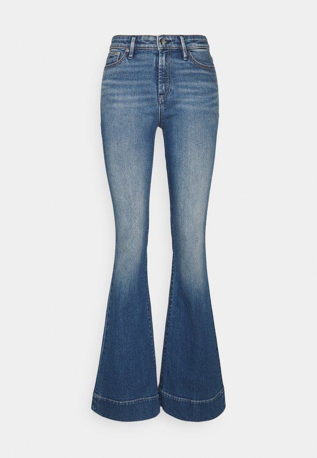 JANE BLAUTH - Flared Jeans - blue