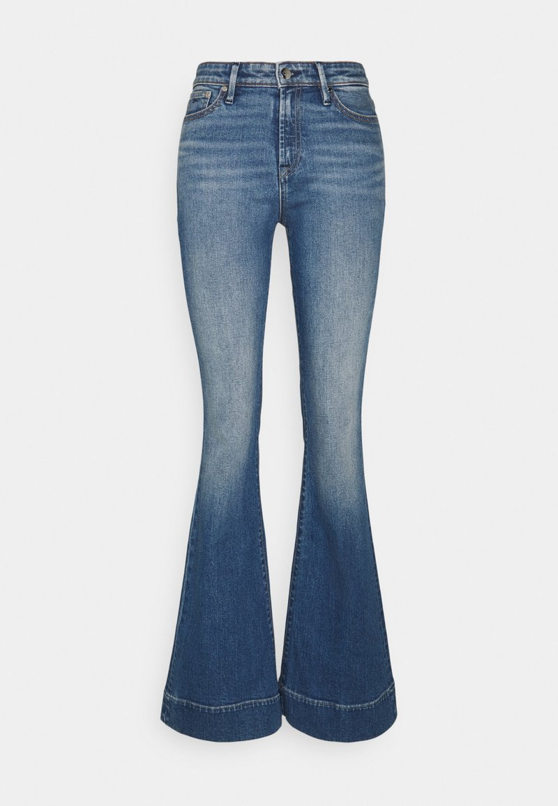 Denham - JANE BLAUTH - Flared Jeans - blue
