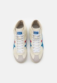 Onitsuka Tiger - MEXICO MID RUNNER UNISEX - High-top trainers - white/blue - 3