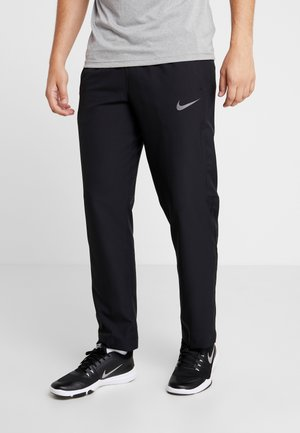 DRY PANT TEAM - Tracksuit bottoms - black/hematite