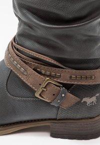 Mustang - Cowboy-/Bikerlaarzen - graphit - 6