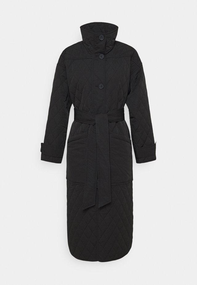 UNNI  - Cappotto classico - black