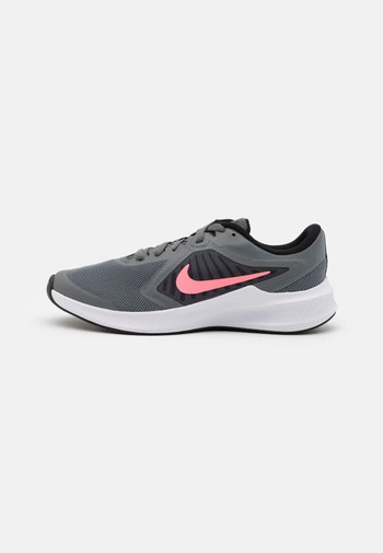DOWNSHIFTER - Neutral running shoes - smoke grey/sunset pulse/black/white