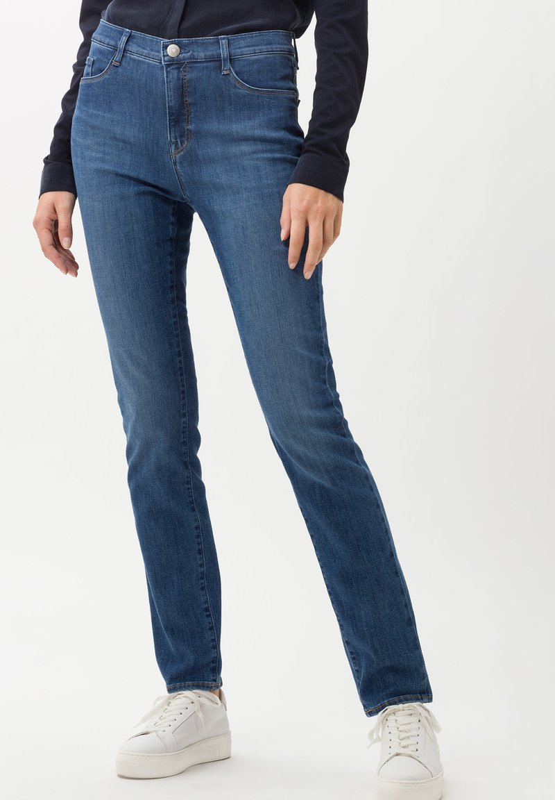 BRAX - STYLE MARY - Slim fit jeans - blue