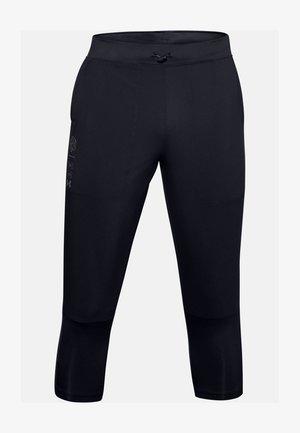 UA RUN ANYWHERE - 3/4 sports trousers - black