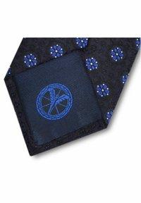 Carlo Colucci - Tie - blau - 1