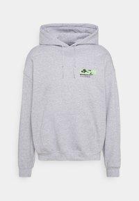 Mennace - JAPAN OVERHEAD HOODIE - Zip-up hoodie - grey - 5