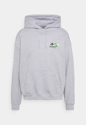JAPAN OVERHEAD HOODIE - Collegetakki - grey