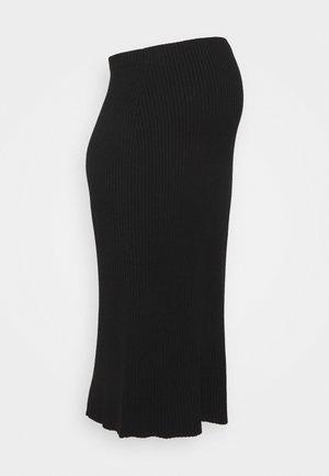 VAL DI FIEMME - Pouzdrová sukně - black