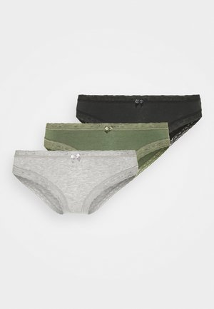 FREE SPIRIT 3 PACK - Boxerky - black