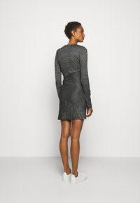 rag & bone - THE TONAL BLOCKED DRESS - Shift dress - black - 2