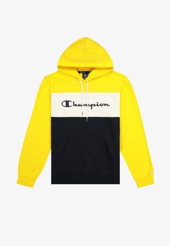 Hoodie - yellow black white