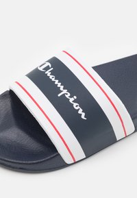 Champion - SLIDE CLEARWATER - Badesandale - navy - 5