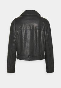 HUGO - LAFERI - Leather jacket - black - 1