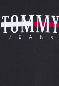Tommy Jeans - TIMELESS CREW UNISEX - Sweatshirt - black - 8