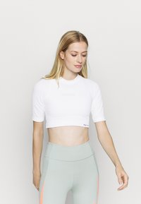 NU-IN - CROPPED  - Basic T-shirt - white - 0