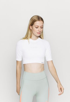 CROPPED  - T-shirts - white