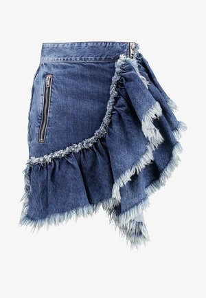 AGGIE GONNA - Pencil skirt - indigo
